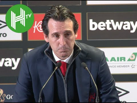 West Ham 1-0 Arsenal I Unai Emery defends Mesut Ozil omission Mp3