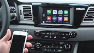 Kia Niro - How To Use Apple CarPlay | Lupient Kia | Minneapolis MN