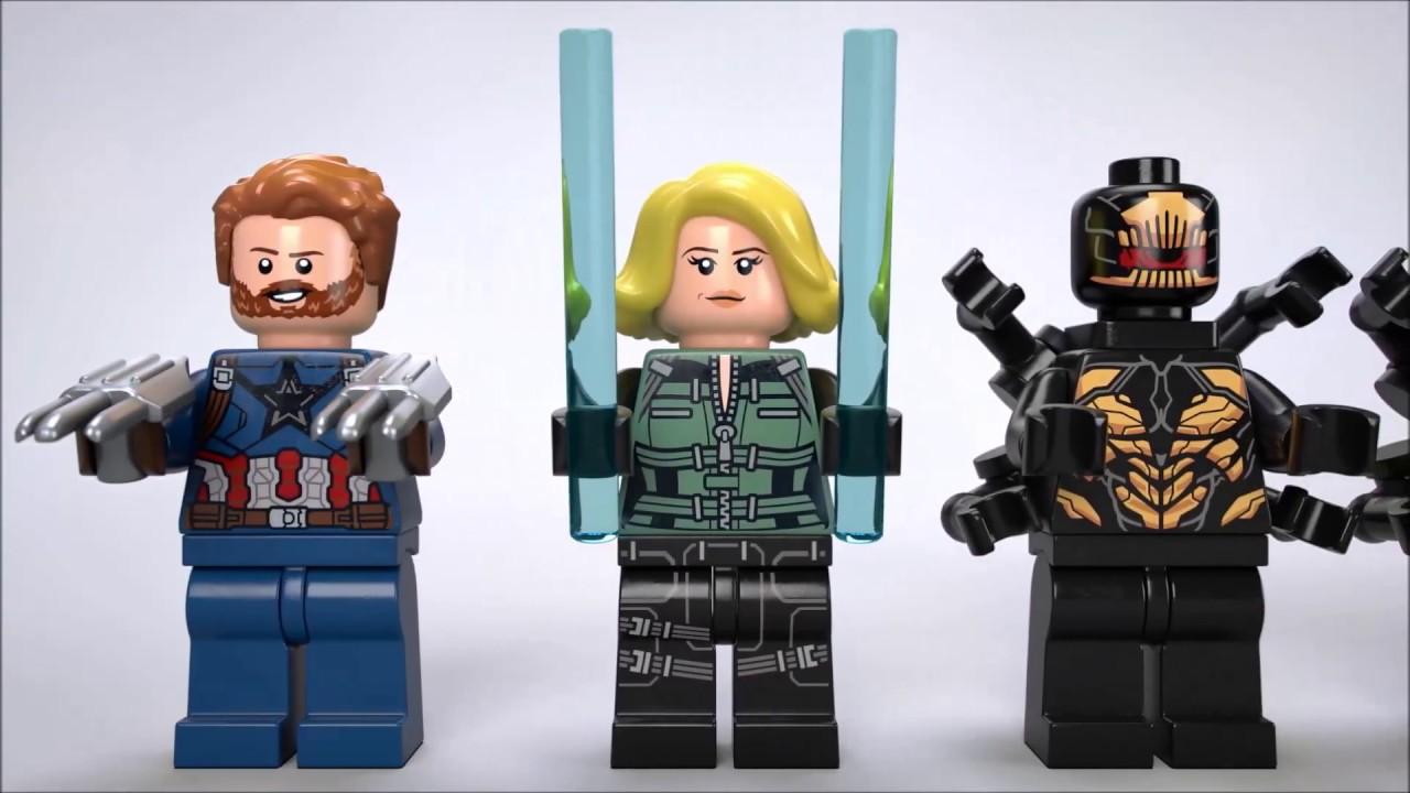 Lego 76101 Marvel Super Heroes Infinity War Black Widow Minifigure
