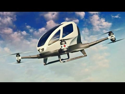 Car-Sized Autonomous Drone of the Future