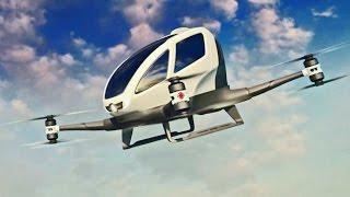 ► Car-Sized Autonomous Drone of the Future