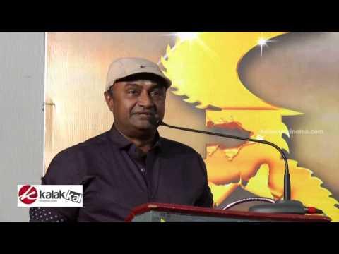 M. S. Bhaskar at Thigaar Movie Audio Launch