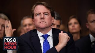 News Wrap: Judge rules former White House lawyer McGahn must testify to Congress