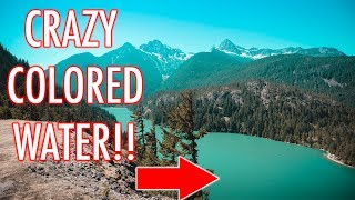 THE MYSTERY BEHIND DIABLO LAKE - (Washington)