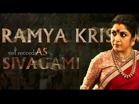 Ramya Krishna as SIVAGAMI AV | Baahubali | MM Keeravaani