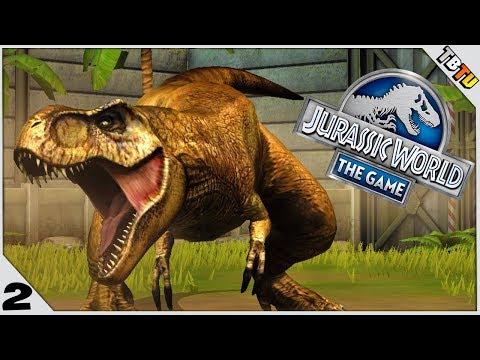 Tyrannosaurus Rex And METRIACANTHOSAURUS! Jurassic World The Game E2