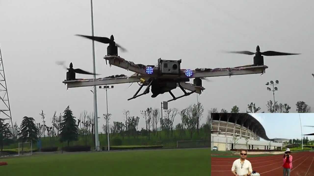 Widow Maker Home Built Quadcopter Full Flight Review - YouTube