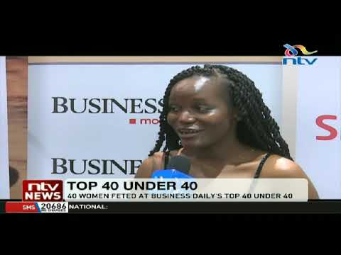 40 women feted at Business Daily's Top 40 Under 40