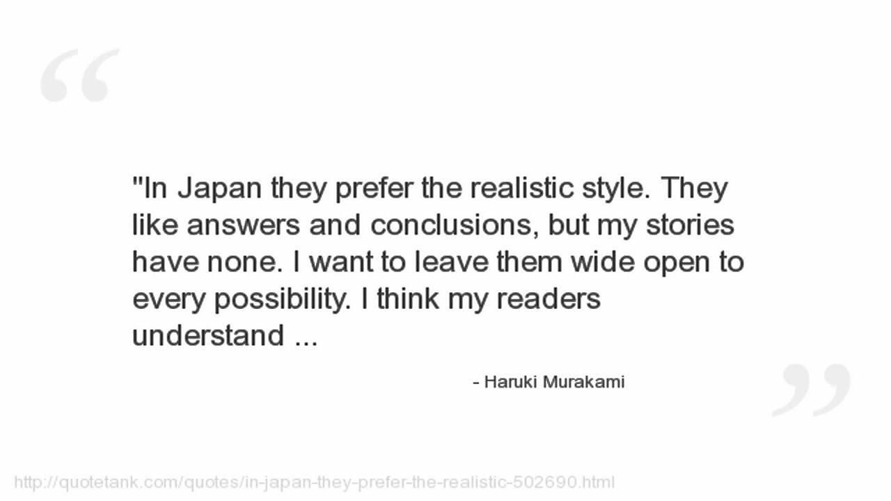 Haruki Murakami Quotes Youtube