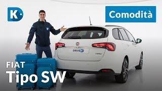 Fiat Tipo Station Wagon 2018 | 4 di 4: praticità | 4 metri e mezzo che sembrano di più!