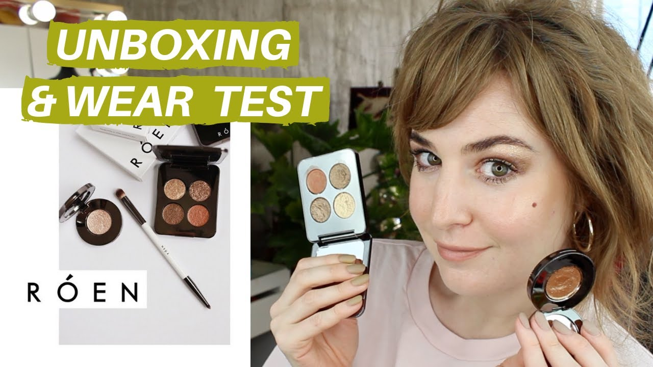 RÓEN BEAUTY REVIEW (FIRST IMPRESSIONS & WEAR TEST) | Hannah Louise Poston |  MY BEAUTY BUDGET