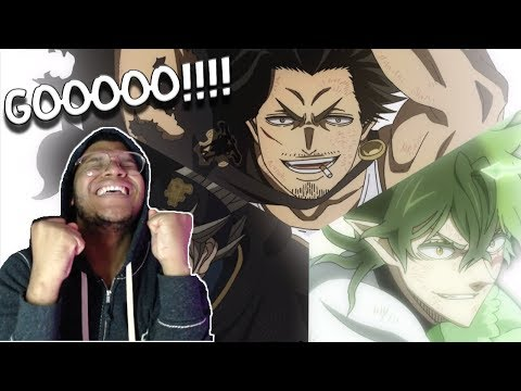 BLACK CLOVER EP. 119 REACTION! - THE FINAL BLOW!!!! GOOOO!!!