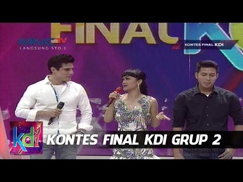 Julia Perez Bingung Pilih Mukhlis atau Atilio - Kontes Final KDI Grup 2 (24/5)
