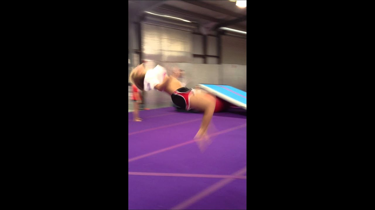 de5991c93a01 Katie Flip Flop Tuck.   Courage Cheer and Dance UnitedMOV - YouTube