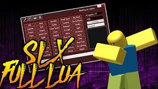 ✔️roblox script executor | SLX FULL LUA (Patched)✔️
