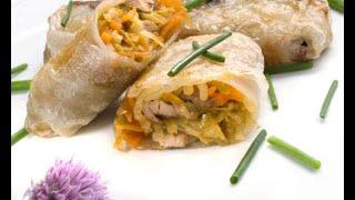 Receta de rollitos de verdura, soja y ternera - Karlos Arguiñano