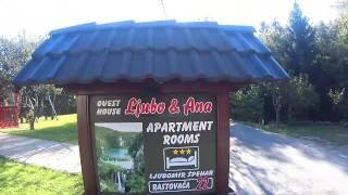 Accommodation review (Ljubo and Anna), Horvátország Plitvice Lakes, Rastovača