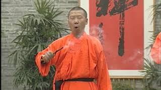 Шаолинь, демонстрация монахами жесткого цигун