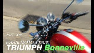 Essai Bonneville T120 - Triumph
