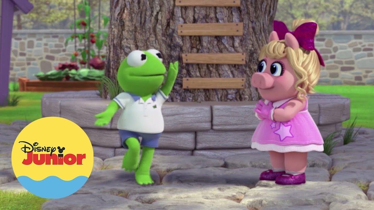 Download Kermit e Miss Piggy   Hora do Show   Muppet Babies