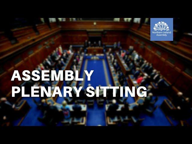 Assembly Plenary - 29 June 2021
