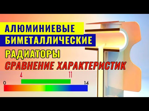 Алюминиевые и биметаллические радиаторы отопления: сравнение характеристик
