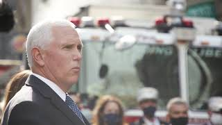 Vice President Pence visits the 9/11 Memorial in New York City