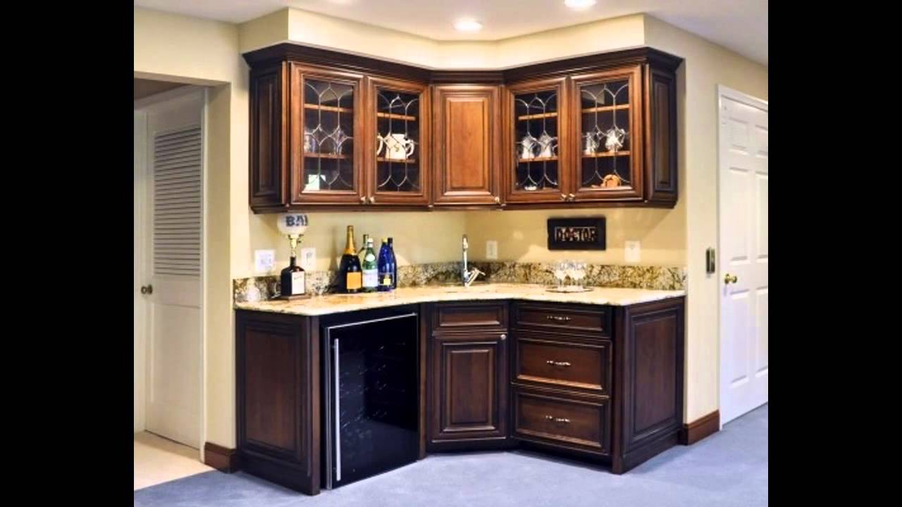 Easy Home wet bar design - YouTube