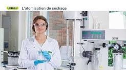 Paramètres de spray pour une atomisation et encapsulation optimales