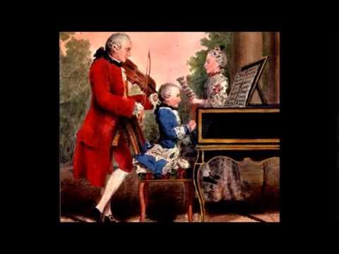 Leopold Mozart sonata I in fa mag