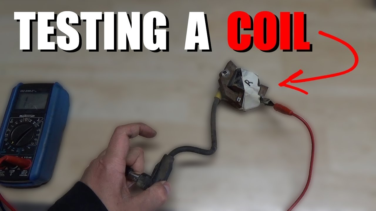 How To Test A Lawnmower Coil Youtube