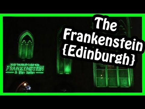 Best Place to eat in Edinburgh {The Frankenstein}