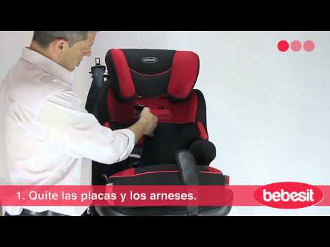 86b8fa640 Bebesit Beline - Instalación en el auto - YouTube