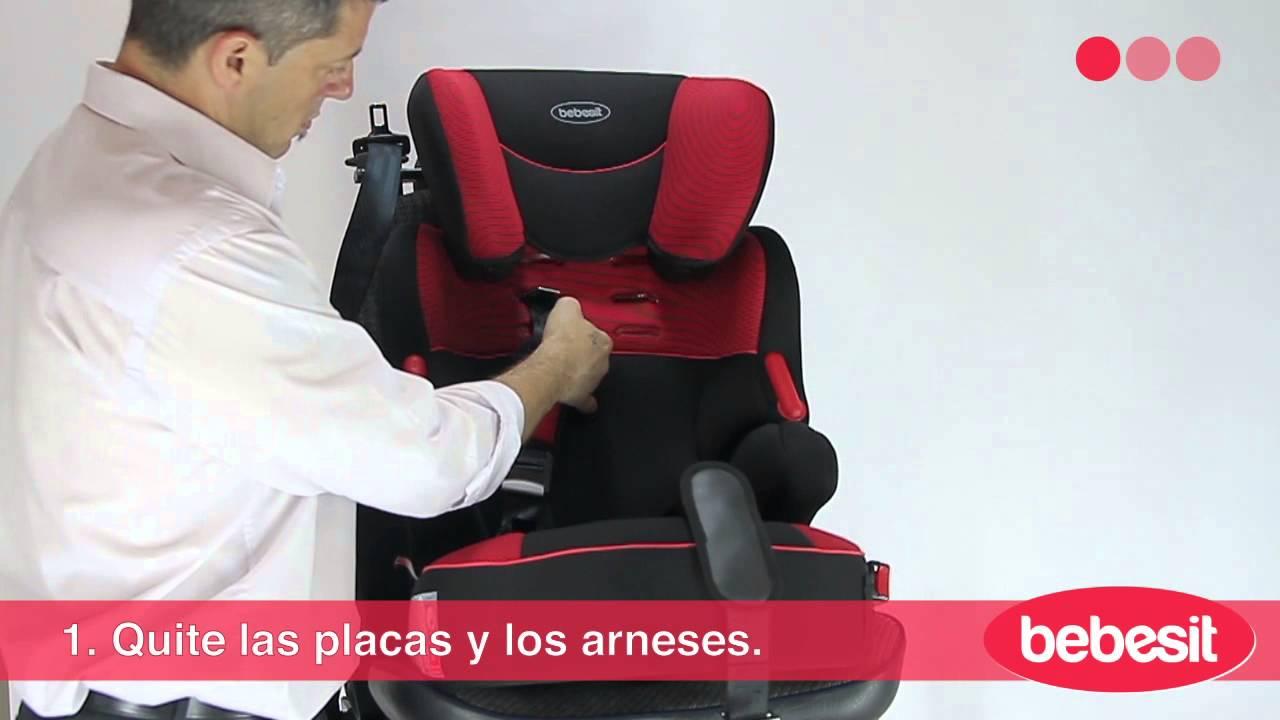 Bebesit beline instalaci n en el auto youtube for Sillas de bebe para auto en walmart