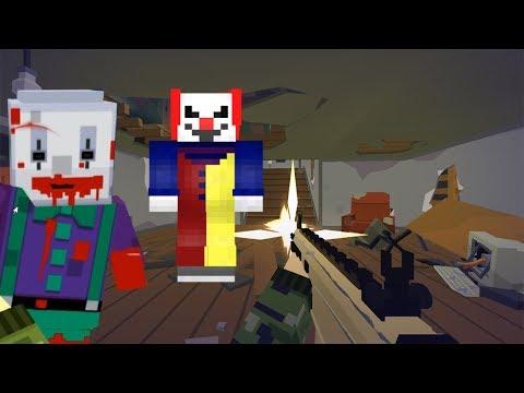 ЗОМБИ Нападение  как МАЙНКРАФТ 2 Симулятор Выживания с пиксельными зомби Побег из тюрьмы с ЗОМБИ