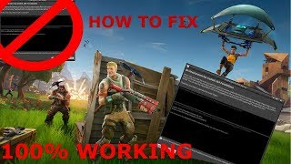 *NEW*|| *FIX* ALL CRASH/BUGS In FORTNITE | PC|*2019*