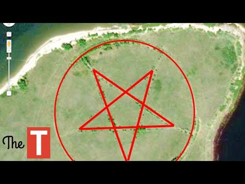 10 Bizarre Images Caught On Google Earth That No One Can Explain