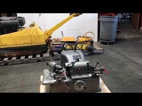 Sioux 645 Valve Refacer Face Grinder Grinding Machine
