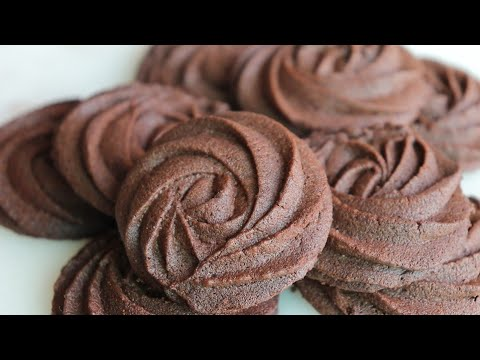How To Make Delicious Chocolate Butter Cookies