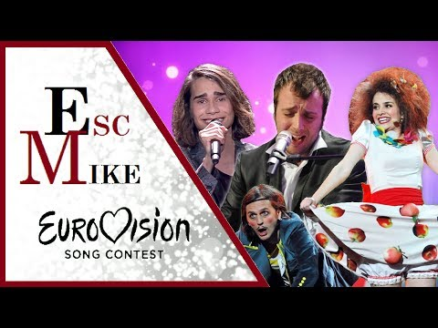 Eurovision - Most Overrated Songs - My Top 30 [2000 - 2017]