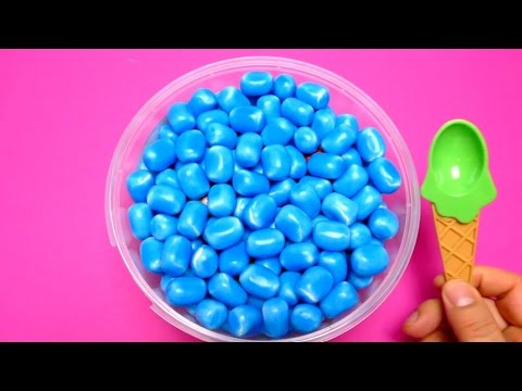 Hide & Seek Game - New Haribo Maoam Blue Kracher with Surprise Toys