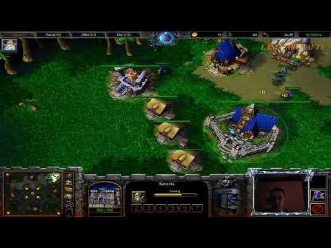 HUMAN Vs NIGHT ELF CAN BE FAST -1vs1 bnet Ladder #26 - Easywarcraft3