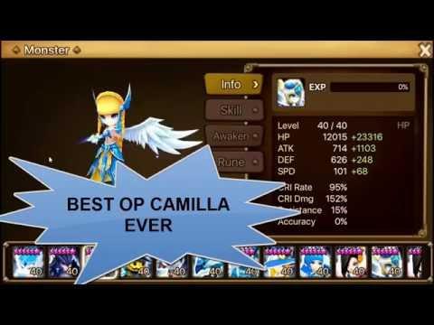 Camilla Build Summoners War