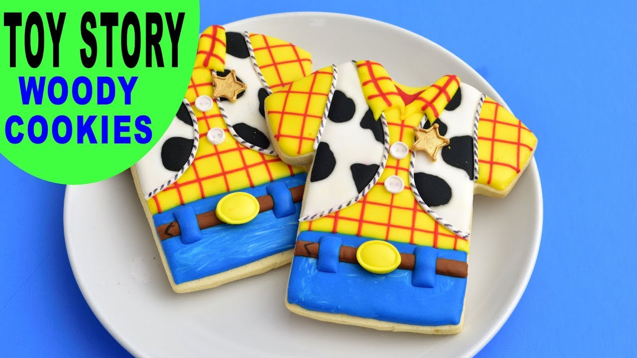 toy story woody cookies