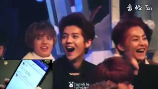 Video EXO Luhan's reaction to his own drama,sooo funny! @SBS Gayo Daejeon Fancam download MP3, 3GP, MP4, WEBM, AVI, FLV Maret 2018