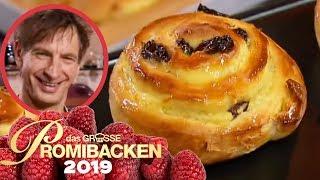Ingolfs perfekte Rosinenschnecke wie vom Bäcker | Verkostung | Das große Promibacken 2019 | SAT.1 TV