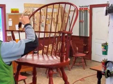 Sack Back Windsor Chair Building Process By Doucette And Wolfe Furniture  Makers Windsor Chairs