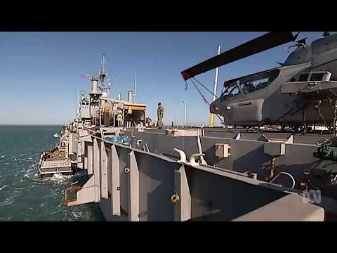 Australian Navy will carry US marines on HMAS Adelaide through the Pacific