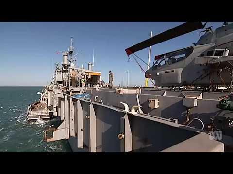 Australian Navy will carry US marines on HMAS Adelaide through the Pacific #auspol #uspoli