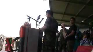 كلمة رئيس الأركان العامة للجيش الليبي يوسف المنقوش